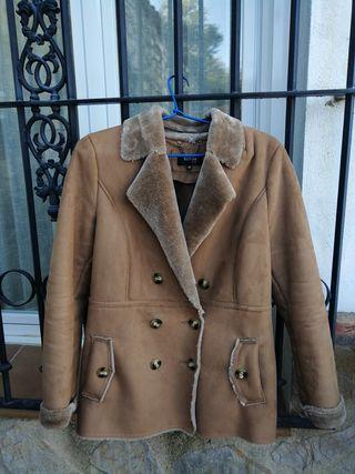 abrigo de ante el corte inglés