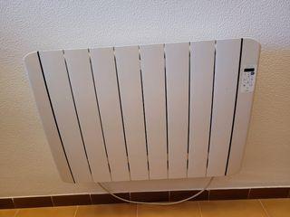 2 radiadores acumulador de calor, bajo consumo