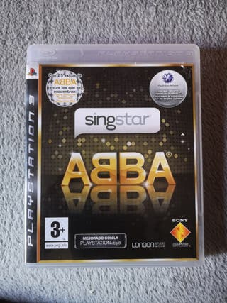 Singstar Abba ps3 perfecto estado