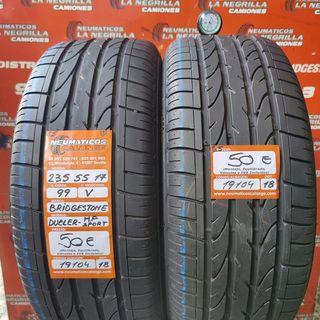 Neumaticos 235 55 17 99V Bridgestone. Ref 19104