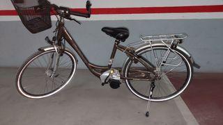 bicicleta,eléctrica, urbana, mujer , kalkhoff