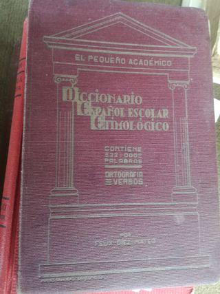Diccionario español escolar etimológico