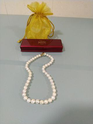 collar de perlas majoricas cultivadasNUEVO