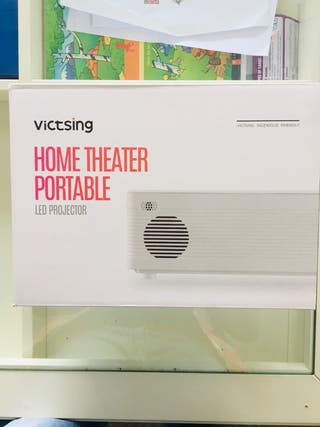 Proyector home theater Portable