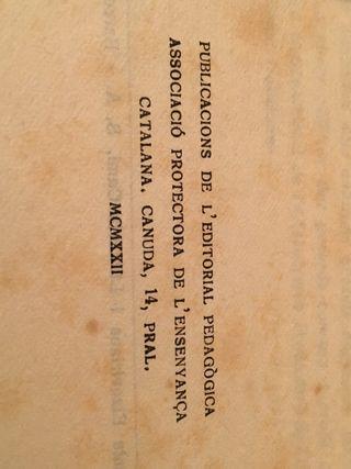 Llibre historia de Catalunya
