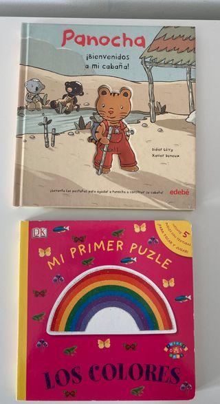 Lote 6 libros infantiles en español