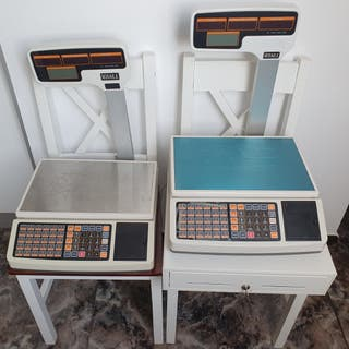 2 Balanzas Comerciales Monar.k + Caja Registradora