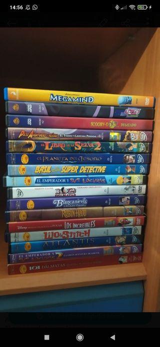 Lote Películas Disney en DVD