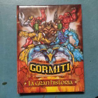 Gormiti - La Gran Historia + libro de pegatinas