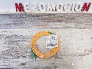 Cable conector fibra óptica