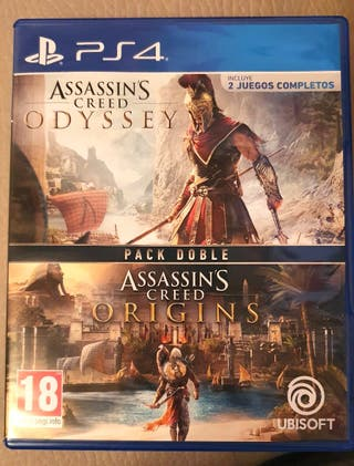 Pack Assassin's Creed Origins + Odyssey PS4