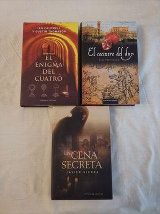 Libros: novelas de misterio y suspense