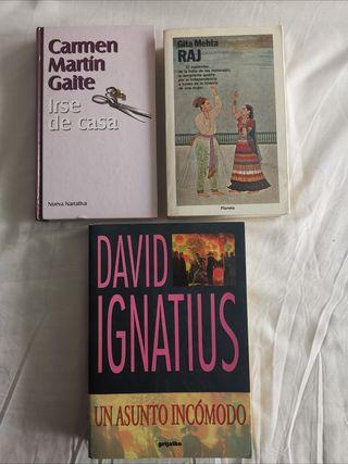 Libros: ficción y novela contemporánea