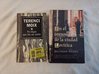 Libros: novela de ficción