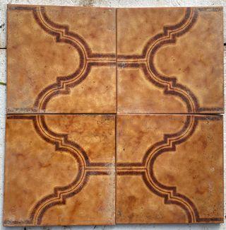 Baldosas antiguas mosaico