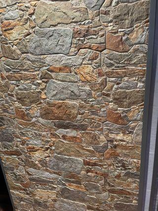 Revestimientos de fachadas en imitacion piedra