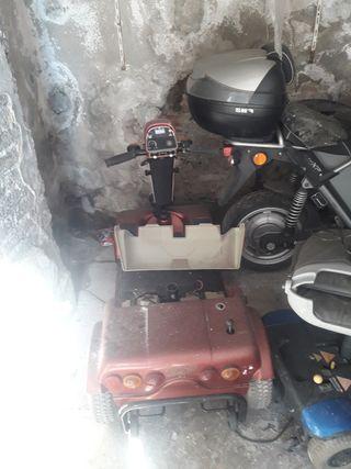 silla de ruedas eléctrica necesita reparación