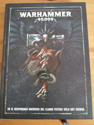 Reglamento para Warhammer 40k 8a