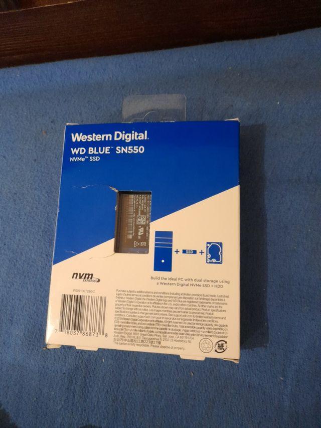 WESTER DIGITAL - WD Blue SN550 NVME SSD