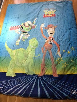 Edredón infantil reversible de Disney 200x150