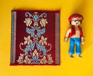 Playmobil alfombra (belén roma árabe egipto)