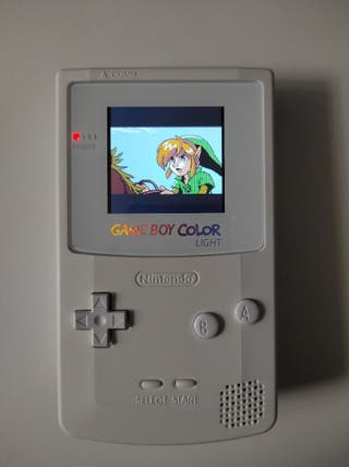 Game boy color remodelada Pantalla Ips