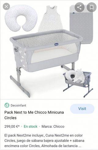 Minicuna colecho Chicco Next2me