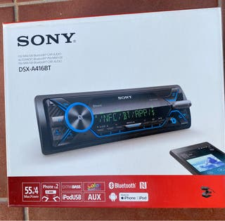 Radiocasete Bluetooth Sony dsx-a416bt