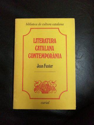 Literatura catalana contemporània
