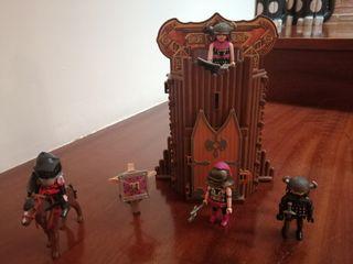 Jugetes playmobils vikingos i caballeros