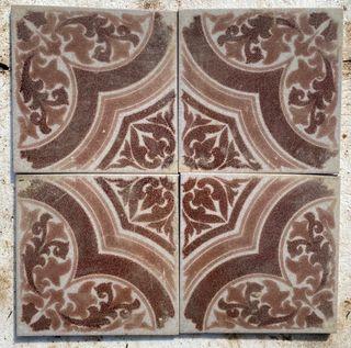 Baldosas mosaico antiguas