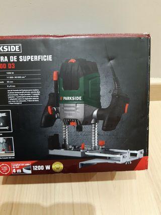 Fresadora Superficie PARKSIDE