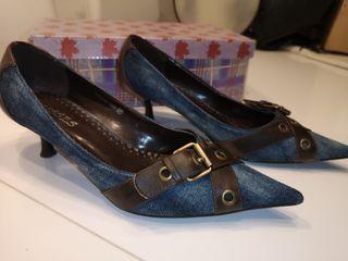 zapato vaquero