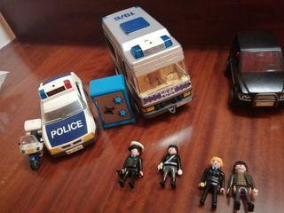 Lote playmobils policia(opcion vender separado)