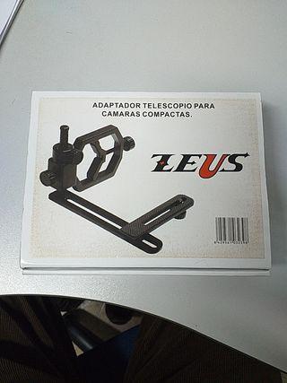Adaptador de telescopio a cámara de foto