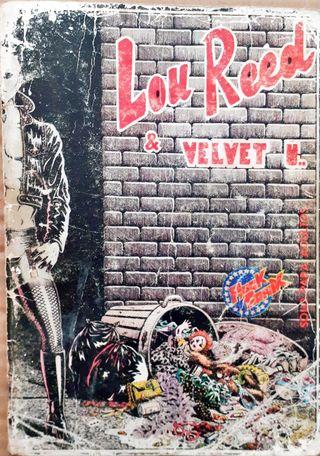 ROCK COMIX- LOU REED-
