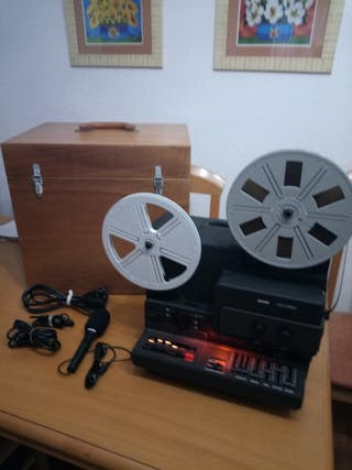 proyector Super 8 t 510 stereo