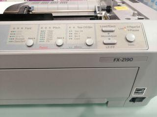 Impresora matricial A3 A4 Mod. Epson FX2190.