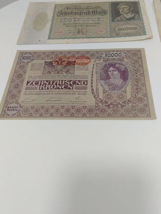 curiosos, preciosos billetes Alemanes