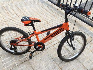 """Bicicleta de niños 20"""" Acero B-Pro"""