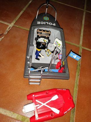 Barco Policial Playmobil