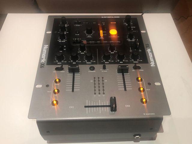 Numark X6 Digital Mixer