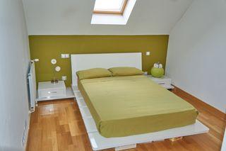 Conjunto cama tatami,ESTILO JAPONÉS,blanco brillo