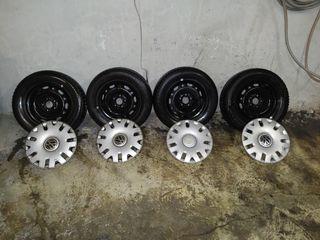 4 Llantas + Neumáticos Michellin Energy
