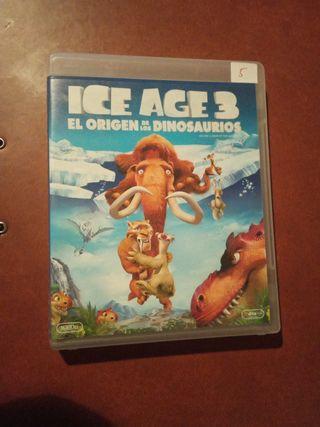 DVD pelicula ICE age 3