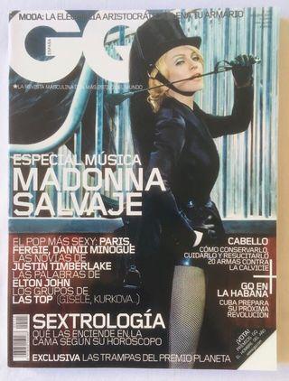 MADONNA REVISTA GQ ESPAÑA OCTUBRE 2005