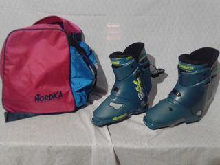 botas esquí nuevas marca nórdica