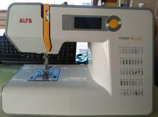 Máquina de coser/Patchwork Alfa Compakt 500E