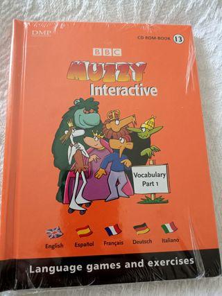 Libro infantil varios idiomas en 1. Muzzy