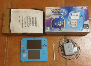 Nintendo 2ds edición Pokémon